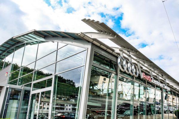 Audi Zentrum Siegen Außenaufnahme