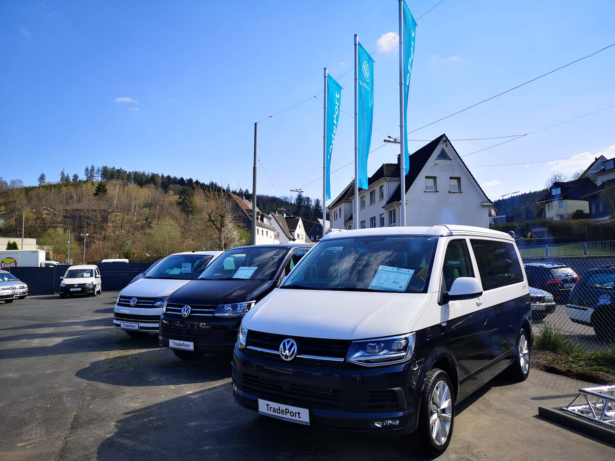 VW TradePort Lagerfahrzeuge bei Walter Schneider