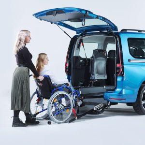 VW Caddy und Handicap - Passivfahrer