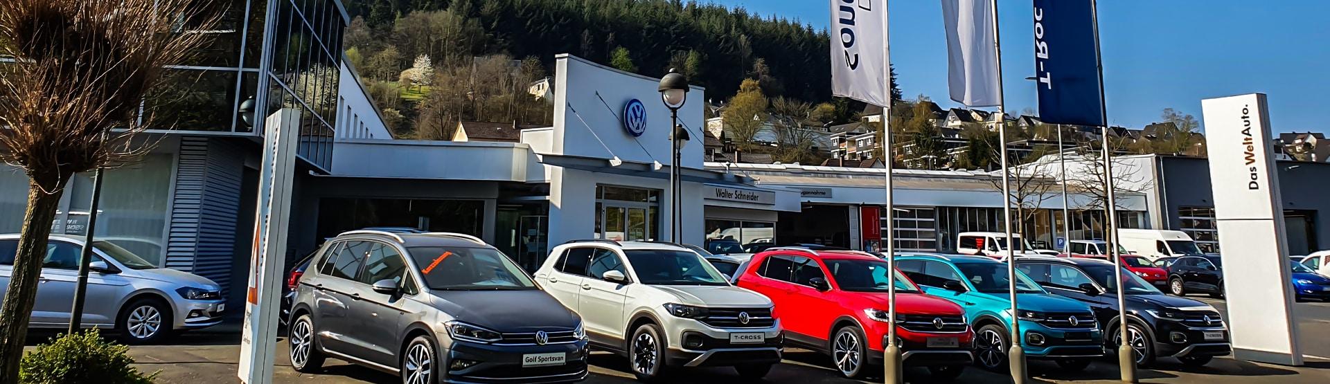 Autohaus Walter Schneider in Siegen-Fludersbach