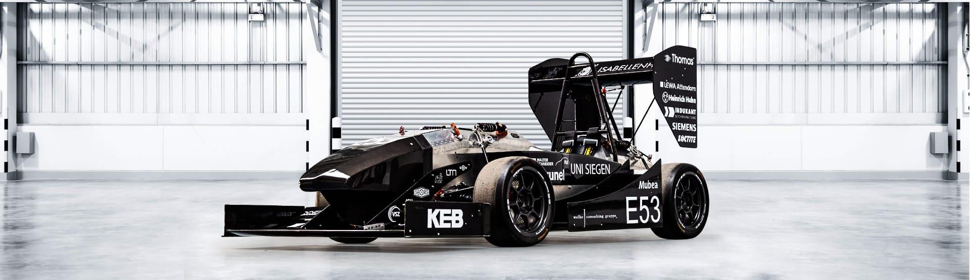 Formula Student Fahrzeug der Uni Siegen