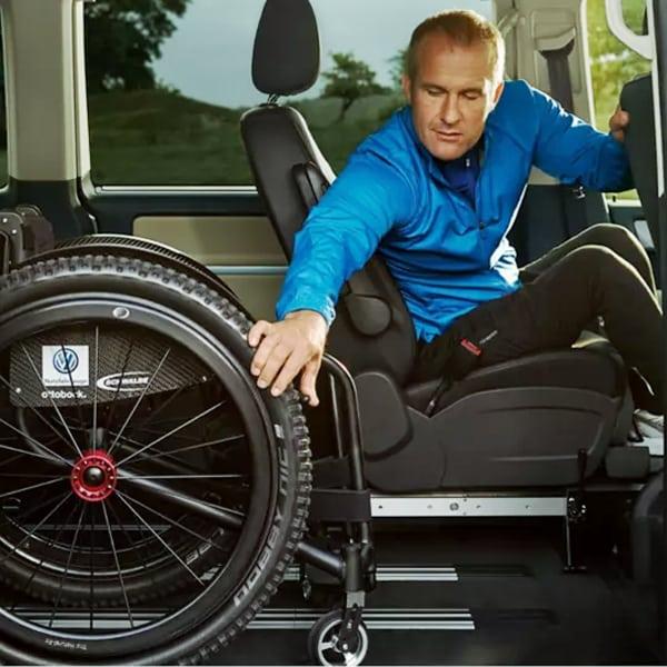 VW Multivan und Handicap-Aktivfahrer